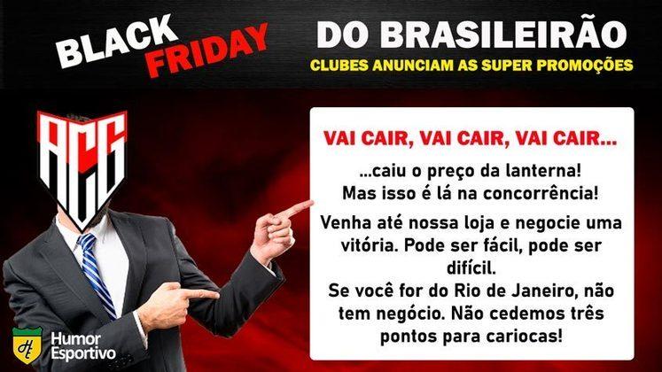 Black Friday: a promoção do Atlético-GO
