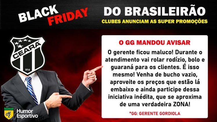 Black Friday: a promoção do Ceará