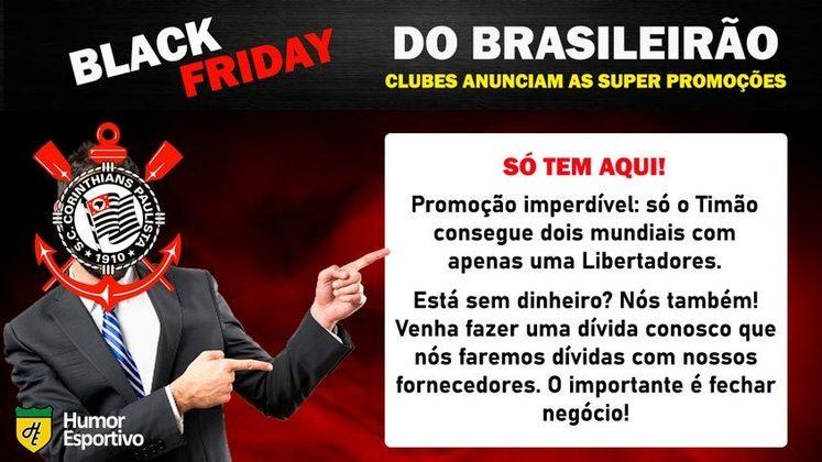 Black Friday: a promoção do Corinthians