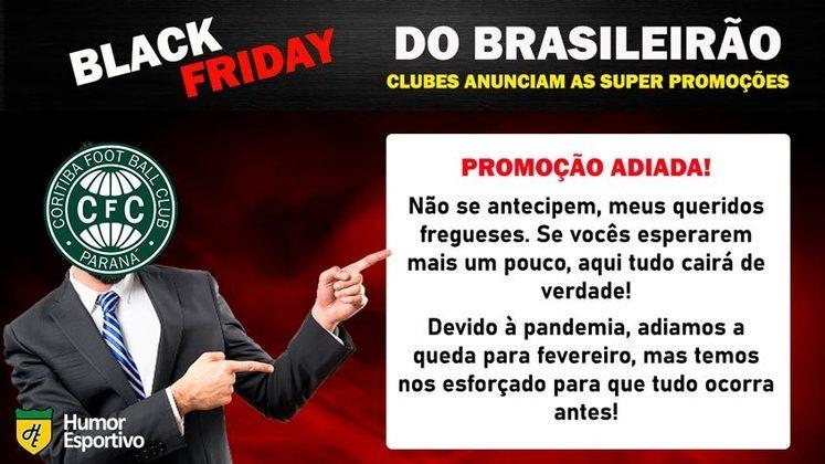 Black Friday: a promoção do Coritiba