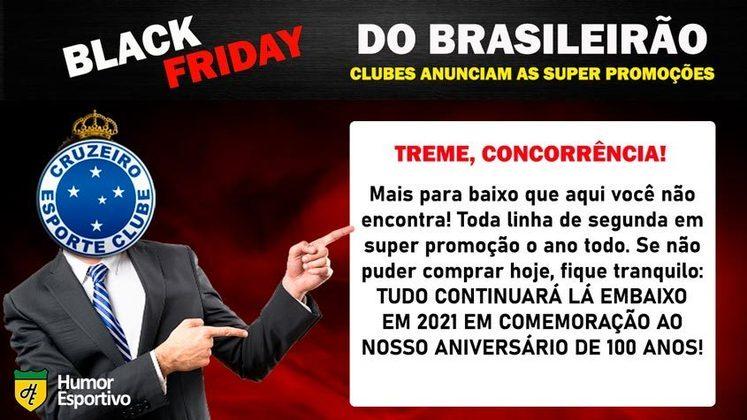 Black Friday: a promoção do Cruzeiro