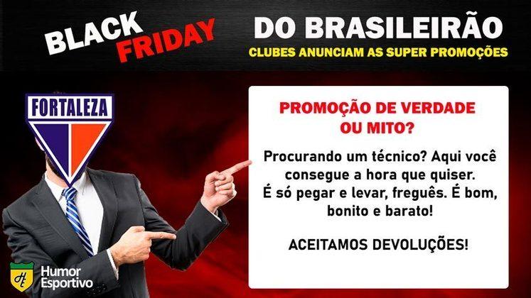 Black Friday: a promoção do Fortaleza