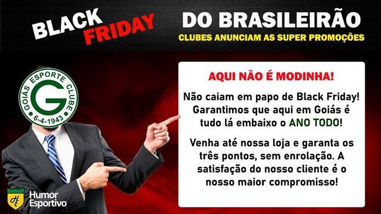Black Friday: a promoção do Goiás