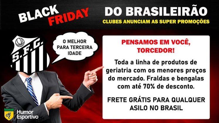 Black Friday: a promoção do Santos