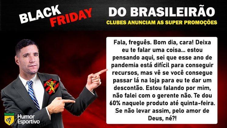Black Friday: a promoção do Sport Recife