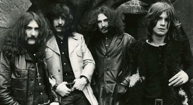 O Black Sabbath no início dos anos 70