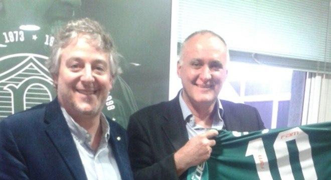 Nobre conseguiu incendiar o ambiente do Palmeiras, campeão brasileiro