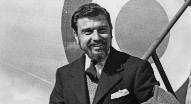 Blake em 1953, após retornar da Coreia; ele foi saudado como herói