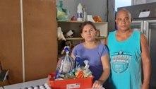 Sem trabalho, ambulantes recorrem a doações para sobreviver