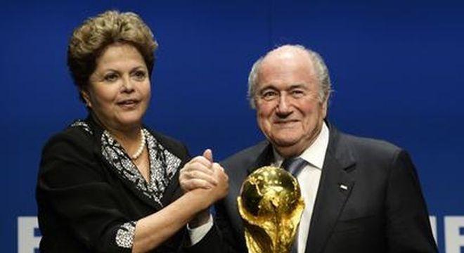 Dirigentes da Fifa sempre foram tratados com carinho pelo Brasil