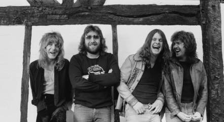 Randy Rhoads, Lee Kerslake, Ozzy Osbourne e Bob Daisley