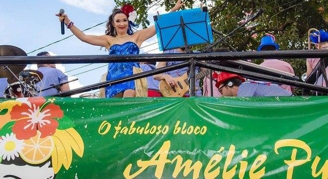 Bloco Amélie Pulando agita o pré-Carnaval paulistano