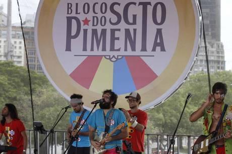 Show do Bloco  Sargento Pimenta