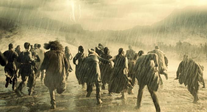 O dilúvio não foi nada fácil para Deus