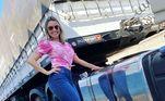 Deise Gonçalves é de Ribeirão Preto, São Paulo, tem meio milhão de seguidores nas redes sociais, dirige um Volvo FH 500 e vem de uma família apaixonada pela vida na boleia