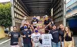 Durante a pandemia, Paulla também conseguiu arrecadar 500 cestas básicas para comunidades vulneráveis em São Paulo e mostrou em seu canal no Youtube como foram as entregas