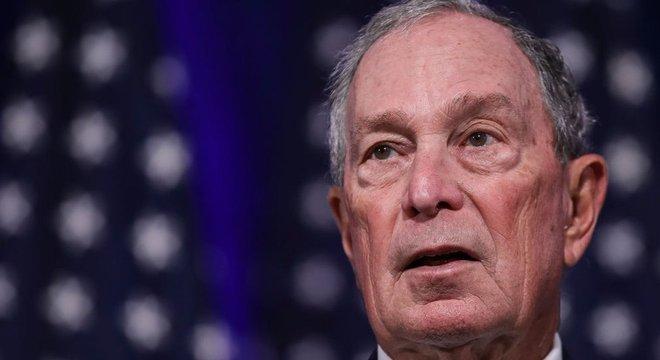 Bloomberg, de 77 anos, é a oitava pessoa mais rica do mundo