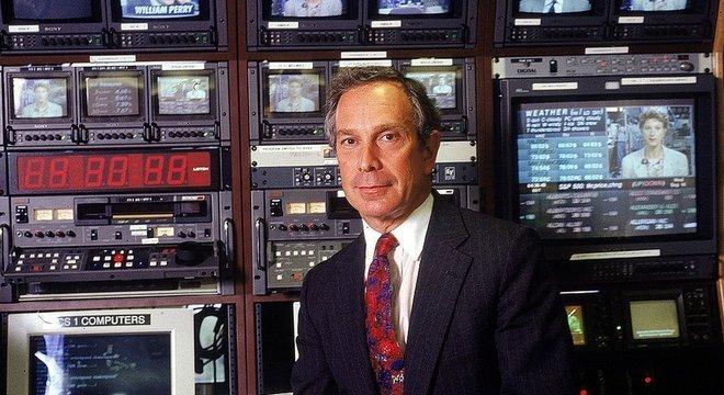 Bloomberg construiu um império de comunicação a partir de informação financeira