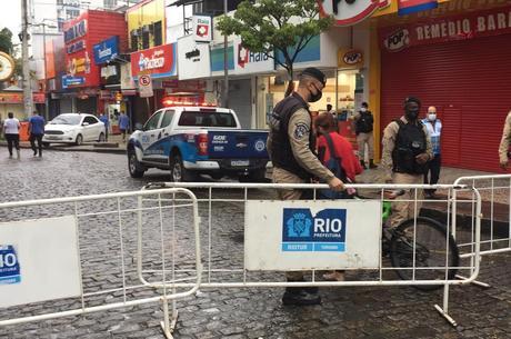 Começa bloqueio parcial do calçadão de Campo Grande