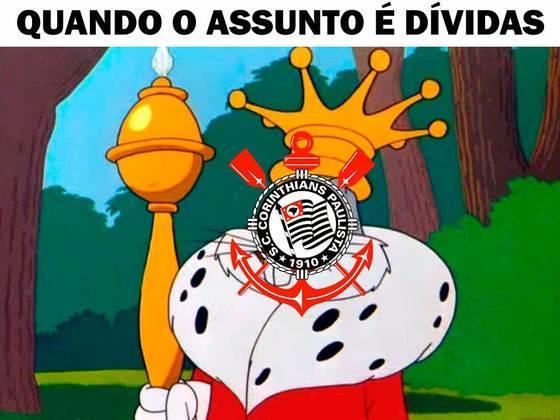 Bloqueio judicial fez Corinthians ser alvo de memes nas redes sociais