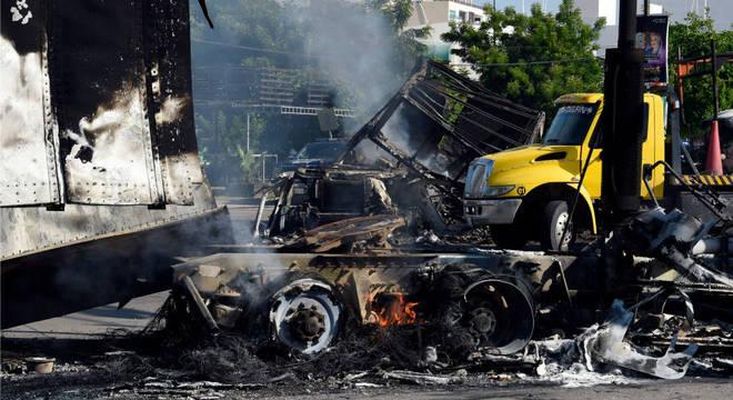 Culiacán viveu momentos de violência após prisão