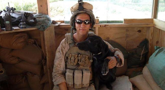 Blue participou de mais de 300 missões no Afeganistão