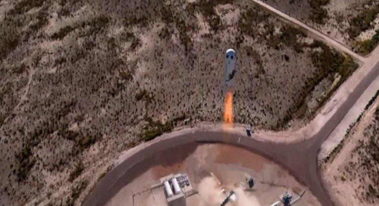 Blue Origin realizou com sucesso o segundo lançamento com civis ao espaço