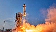 Novo voo espacial da Blue Origin pode ter Capitão Kirk a bordo