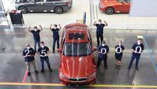 BMW celebra 25 mil unidades do Série 3 fabricados no Brasil