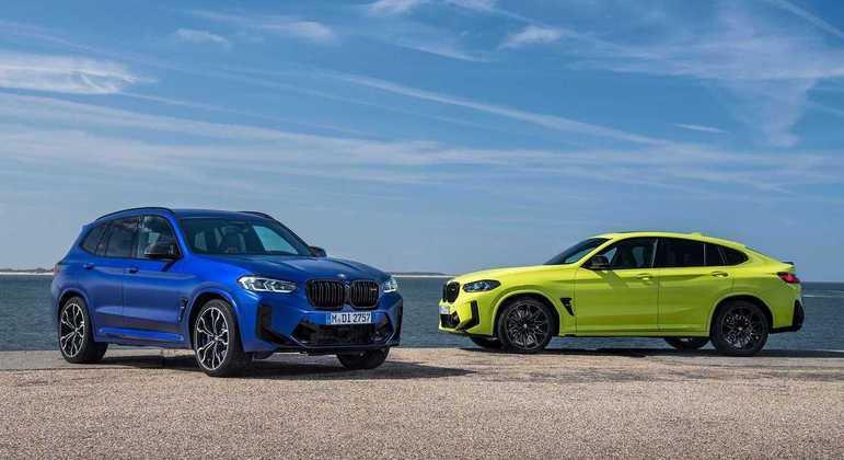 Versões esportivas X3 M Competition e X4 M Competition contam com a assinatura da BMW Motorsport