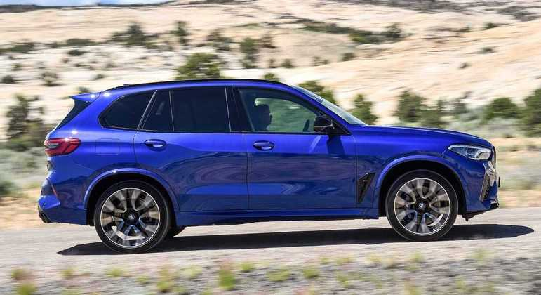 BMW X5 M Competition também tem sistema de condução semiautônoma