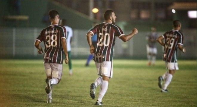 Boavista x Fluminense - Yago Felipe e Martinelli