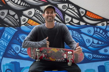 Bob Burnquist se machuca desde antes do skate