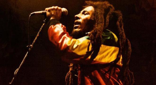 Bob Marley, morto em 1981, continua sendo um ícone da música jamaicana