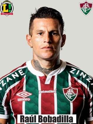 Bobadilla - 4,0 - Fez um cruzamento, mas não criou oportunidades para o Fluminense.