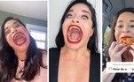 Uma mulher ganhou a esperada fama online com sua imensa e assustadora boca. É sério, já vimos muita coisa estranha aqui no HORA 7, mas isso aí superou quase tudo!