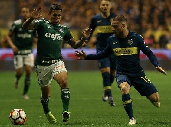 Boca Juniors 2x0 Palmeiras - semifinal de 2019