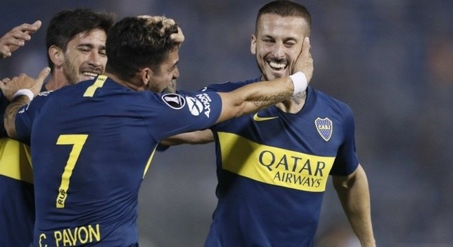 Boca goleou fora de casa e enfrentará o Cruzeiro nas quartas da Libertadores