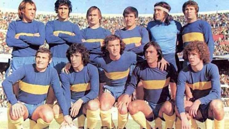 Boca Juniors - Em 1978, foi a vez dos Xeneizes comemorarem. O time argentino fez uma excelente campanha e levantou a taça da Copa Libertadores sem ser derrotado