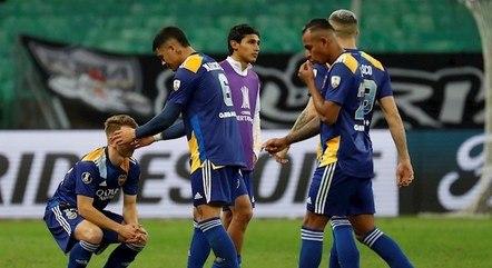 Boca foi eliminado da Libertadores deste ano