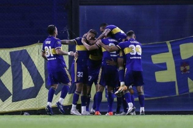 Boca Juniors – pote 2 – segundo lugar no grupo C