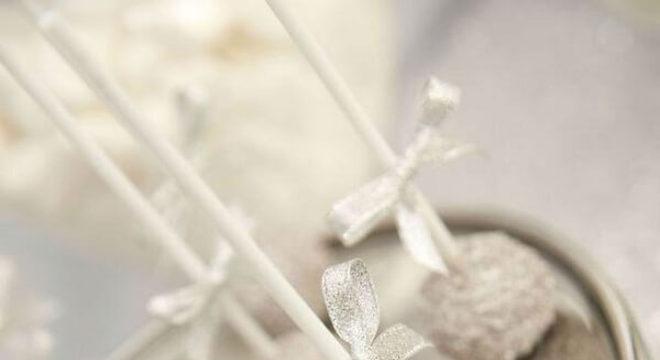 Bodas de prata docinhos prateados