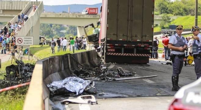 Queda de helicóptero, em 2019, provocou a morte do jornalista e do piloto