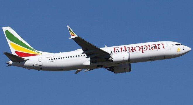 Boeing 737 MAX 8 que caiu no domingo entrou na frota da Ethiopian Airlines no ano passado
