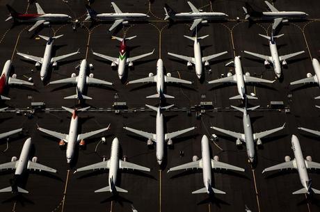 Boeing 737-MAX foi retirado de circulação após acidentes