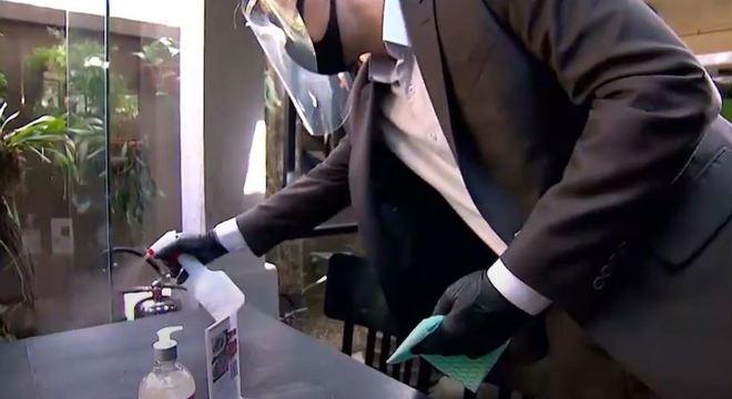 Regras para limpeza e manutenção nos restaurantes ficou ainda mais rígida