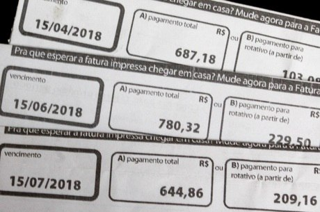 Número de dívidas teve queda no mês