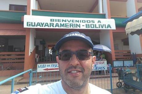 Travessia de barco, estamos na Bolívia