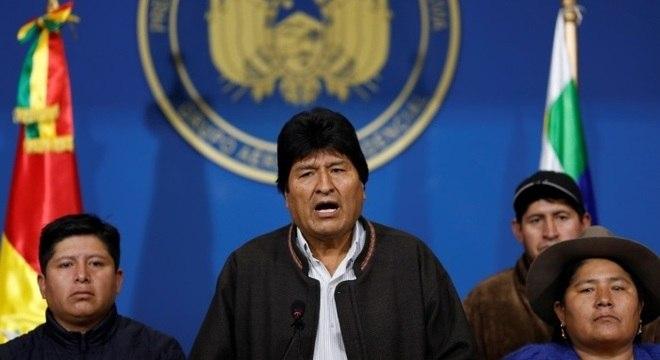 Evo Morales anunciou que vai convocar novas eleições