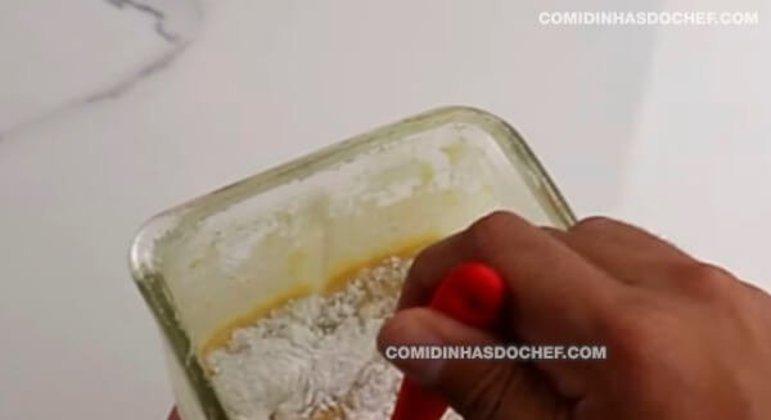 Bolo de Milho Batido no Liquidificador